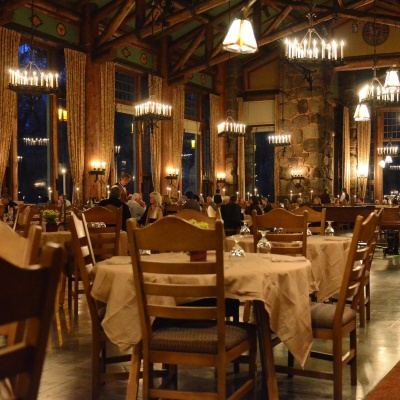 Round-the-clock restaurants